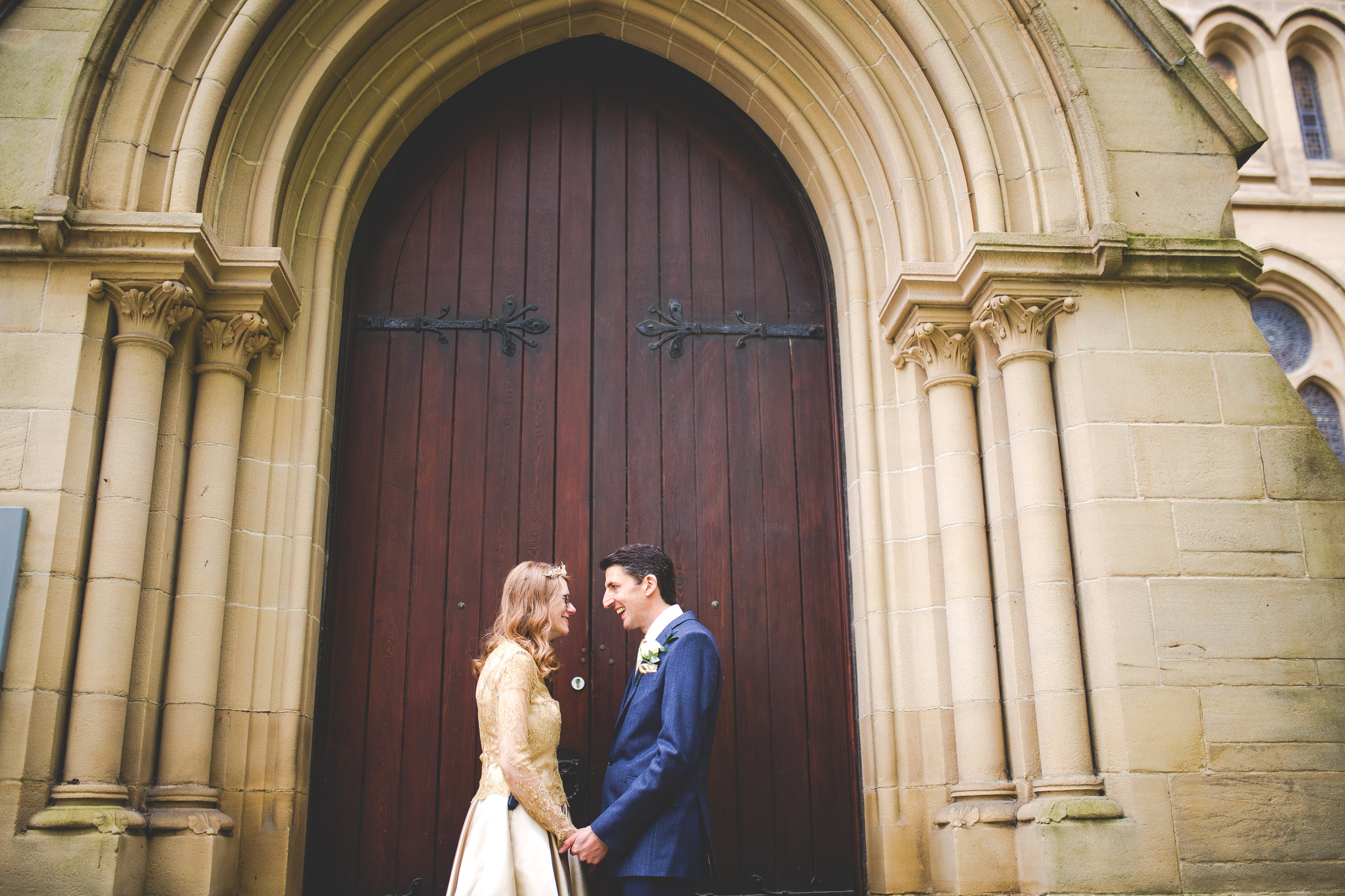 Whitworth Hall modern wedding in Manchester