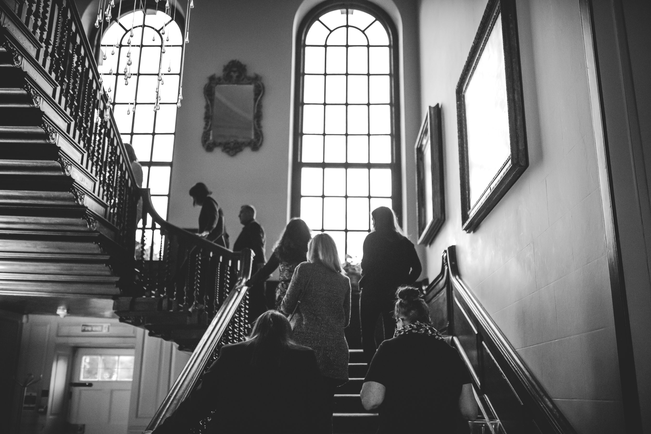 Imagine feeling like a princess or prince coming down these stairs.....they are quite beautiful....