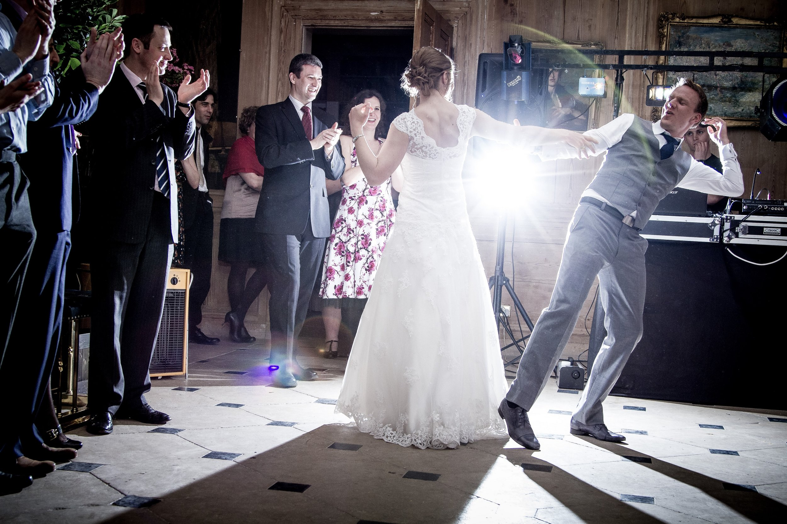 These guys had a late first dance, but it was well worth the extra time!