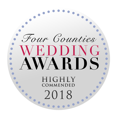 Four Counties Wedding Awards winner. Award Winning Wedding Photographer