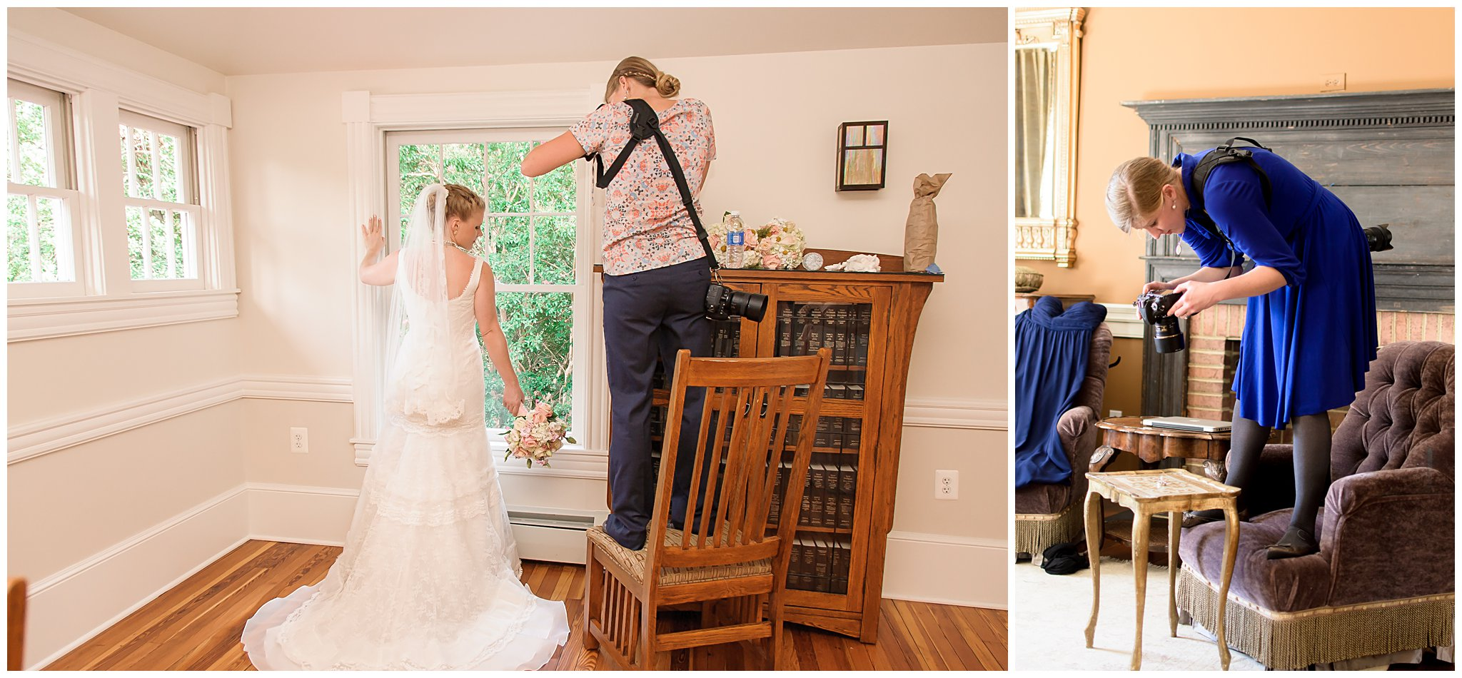 Stephanie Kopf photography Behind the scenes weddings