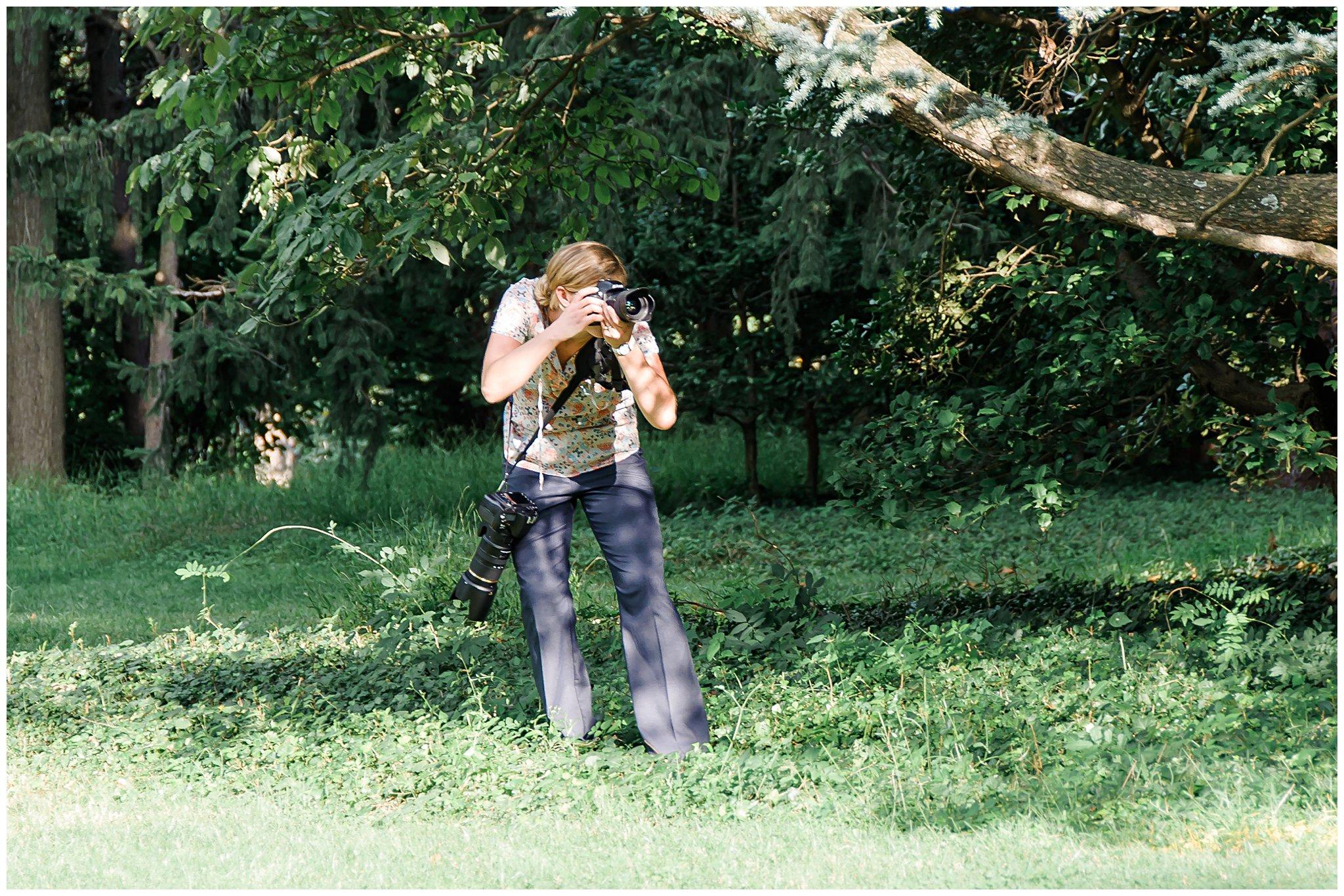 behind the scenes charleston wedding photographer