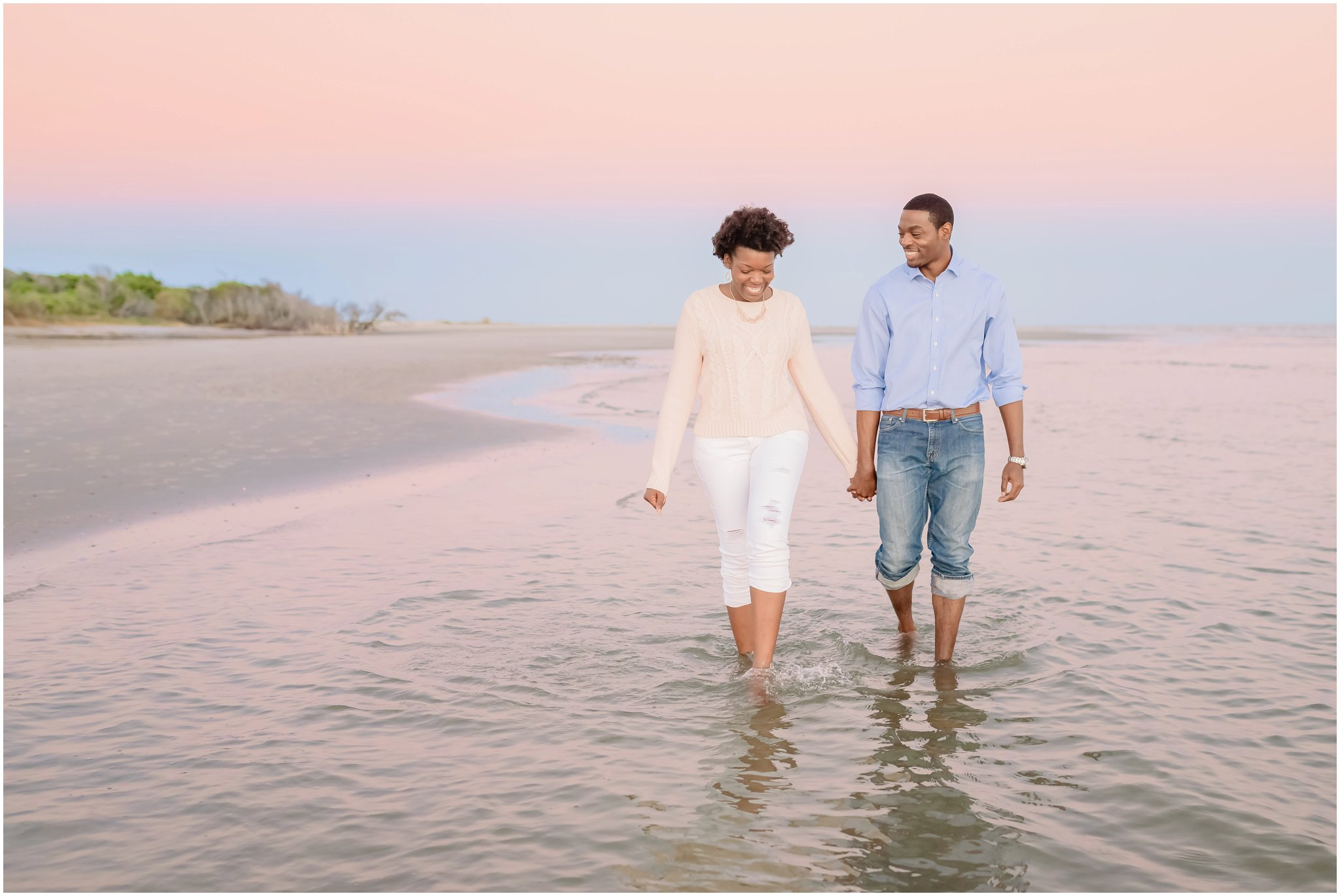 Folly Beach, Charleston SC Wedding and Engagement Photographer