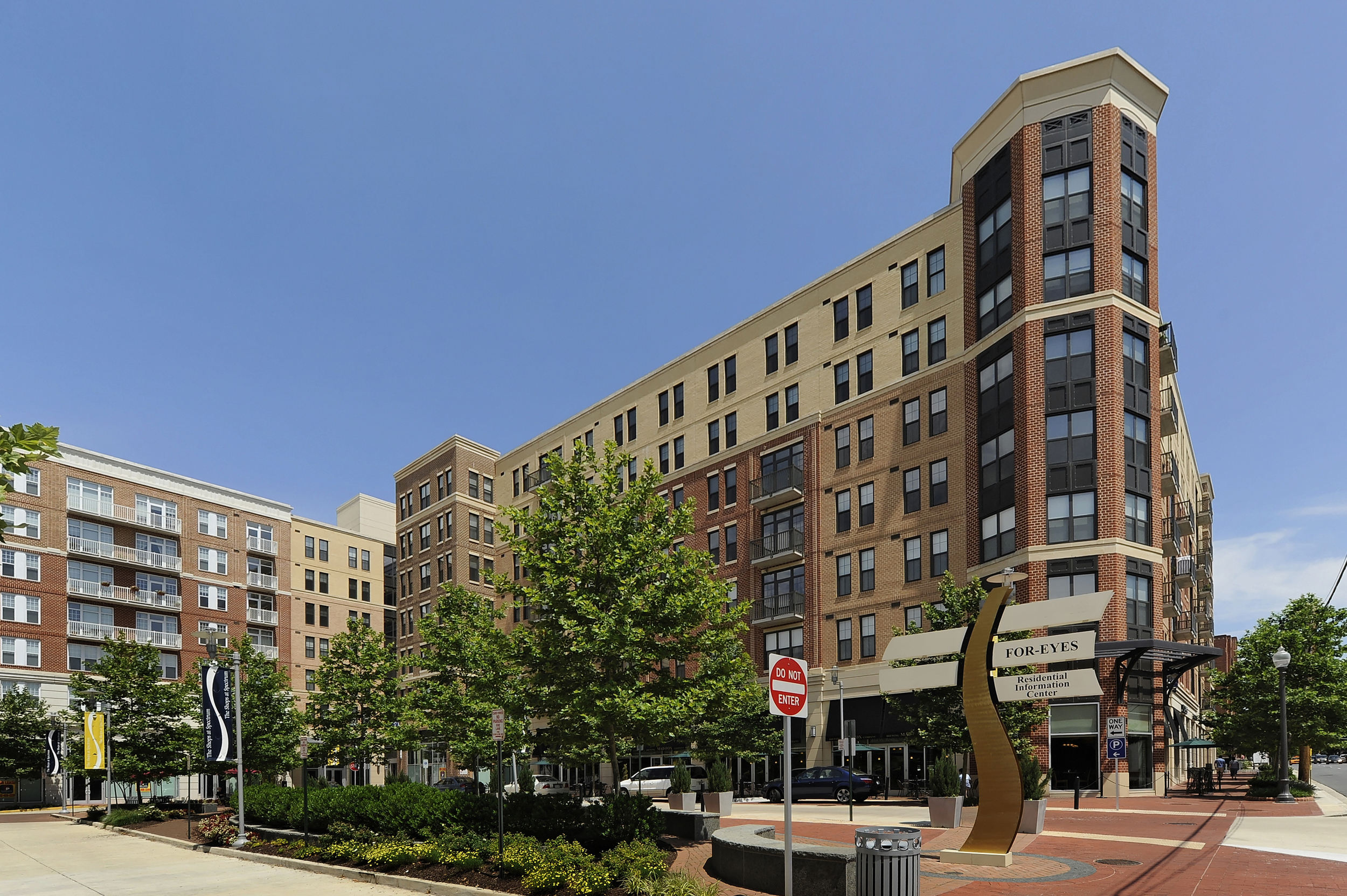 The Spectrum Condo is located at 444 W. Broad Street in Falls Church, VA