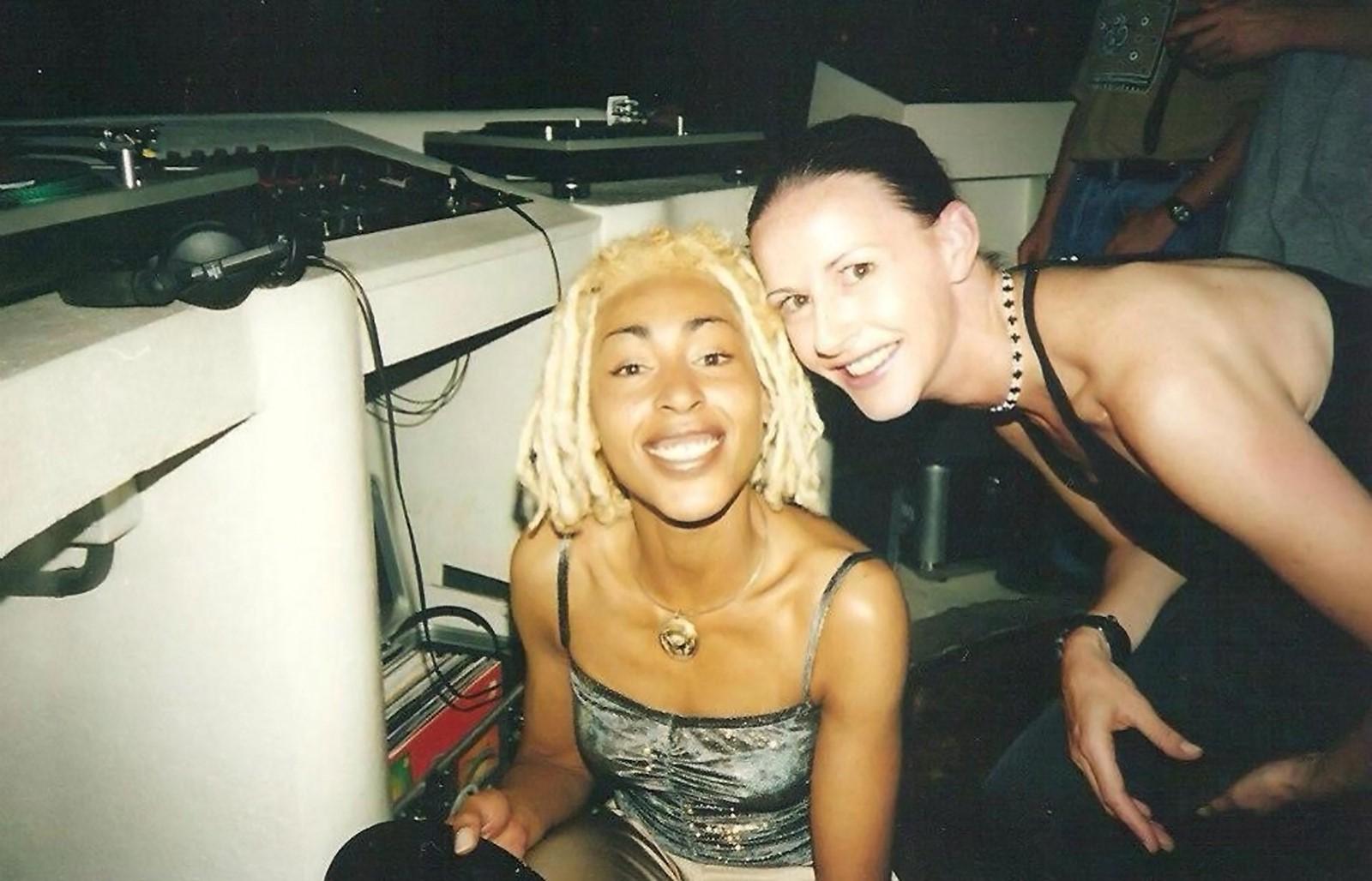 Kemistry (Left) with DJ Storm.