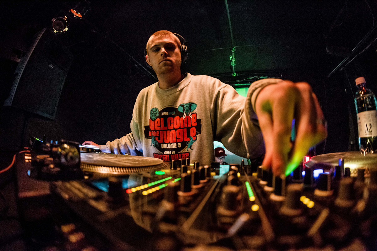 DJ Hybrid, Head Honcho of Deep in the Jungle Records