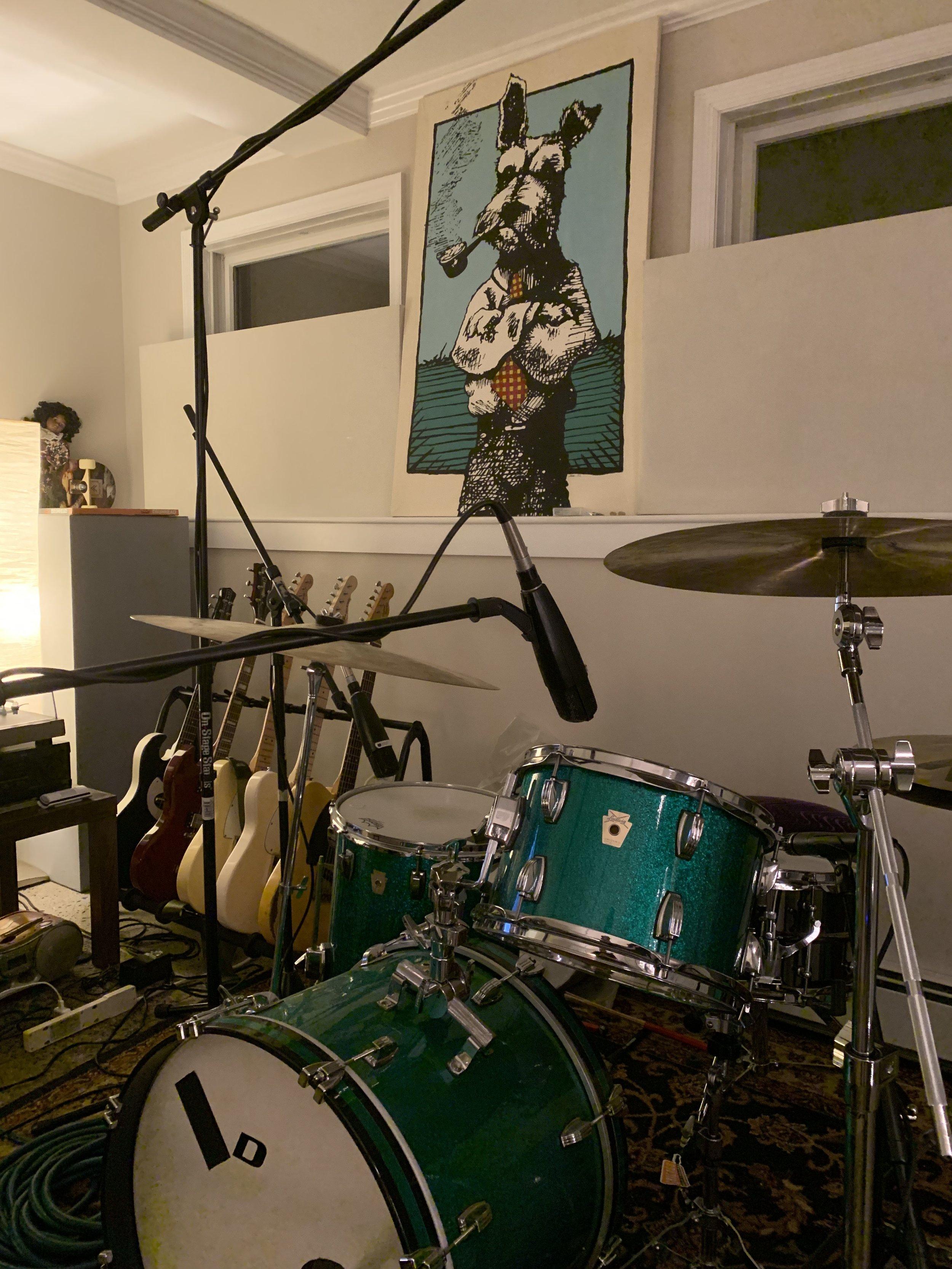 Corner Office recording studio. Highland NY.