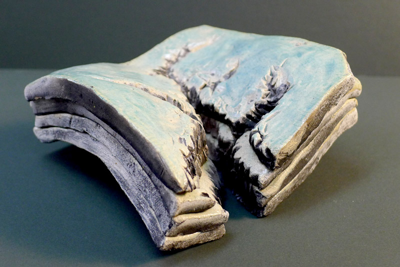 Canyon Layers, ceramic 1984