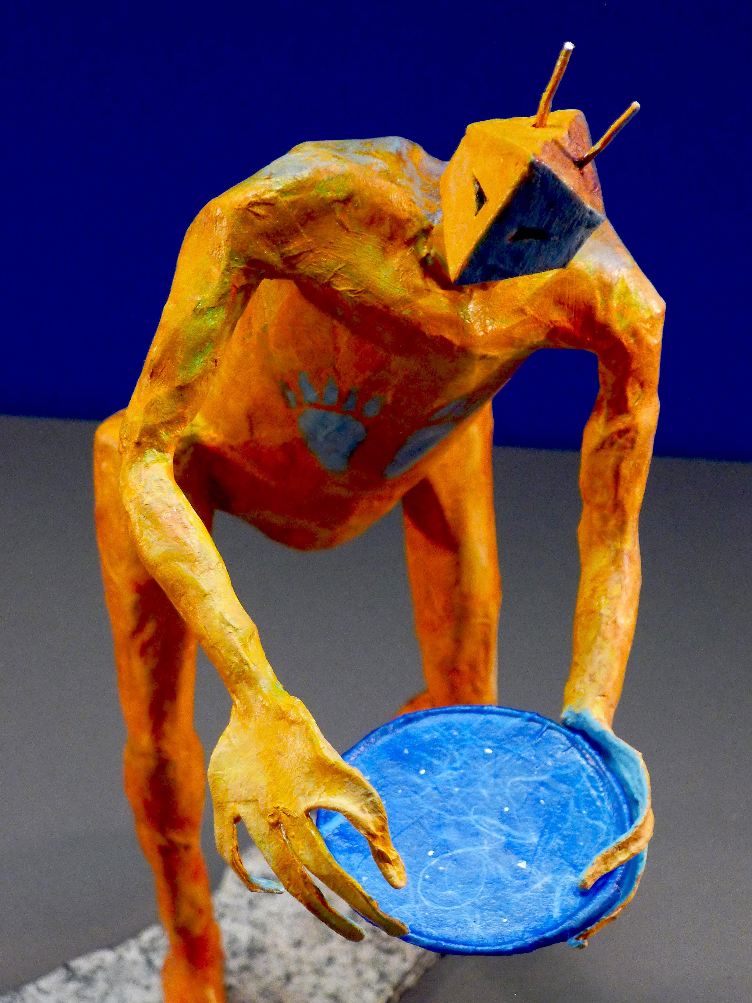 """""""Echo Maker"""" Mixed media sculpture"""