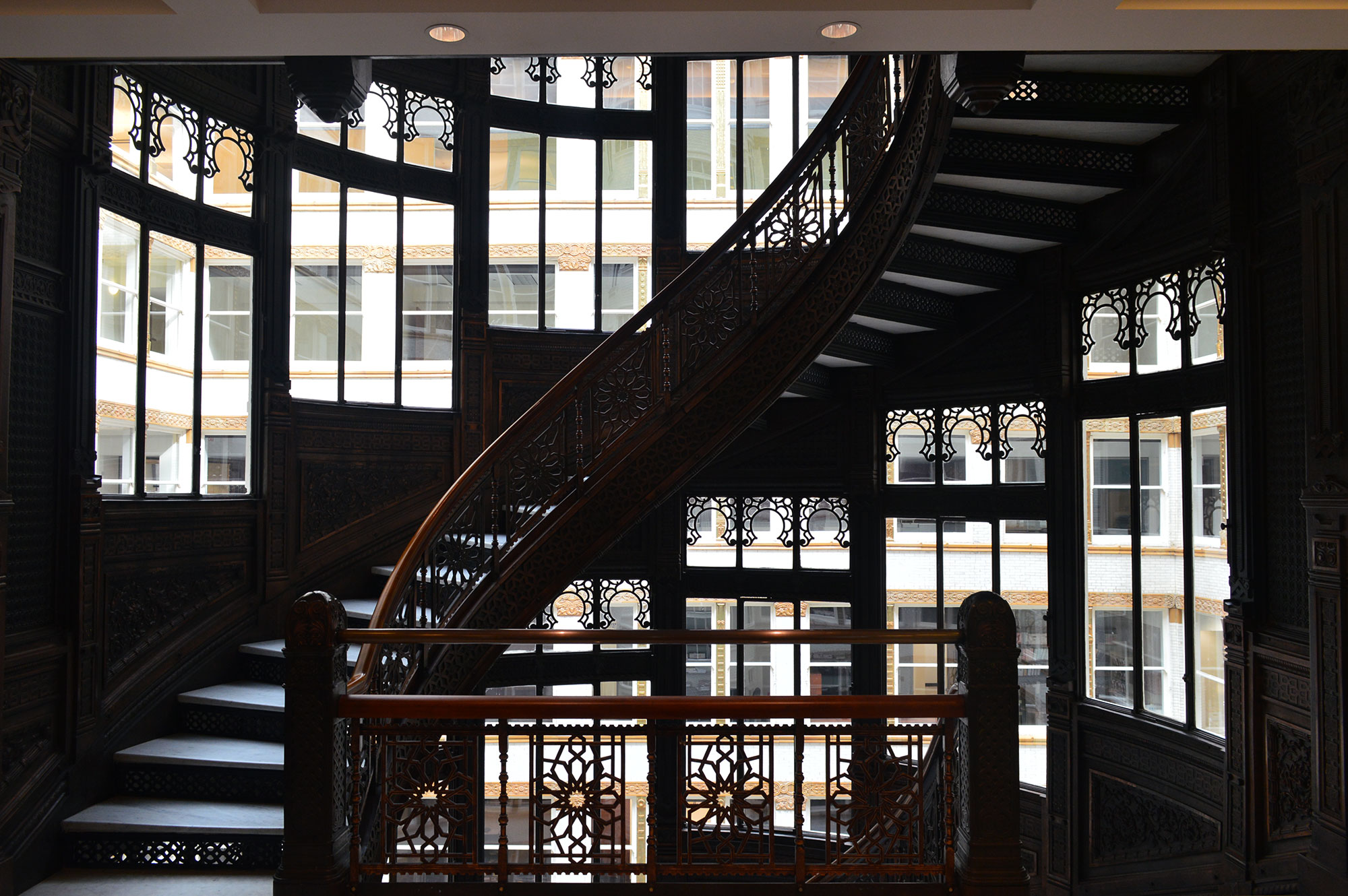 Staircase at the Rookery Building