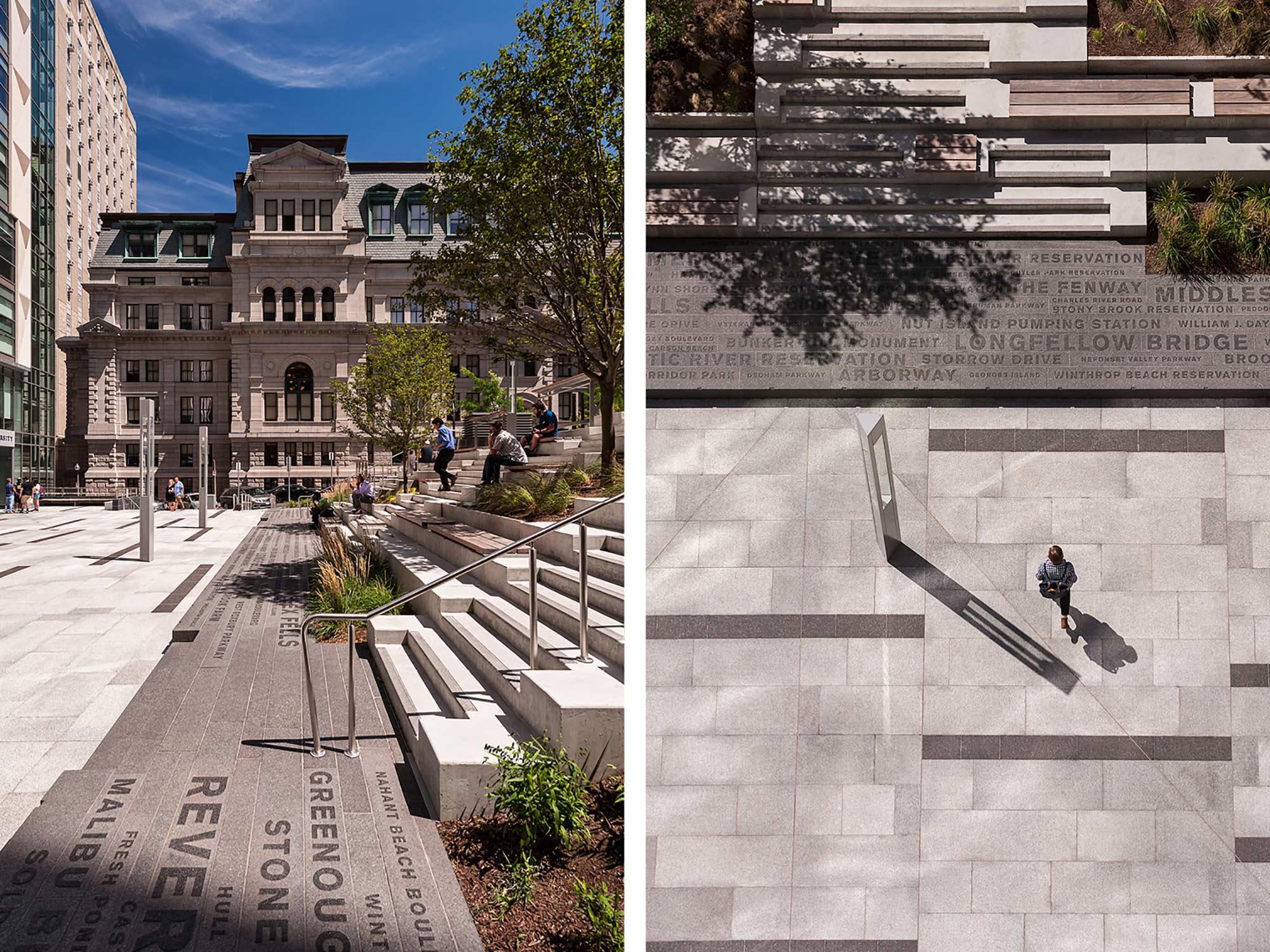 Roemer Plaza – AIA NE Citation Award for Institutional work