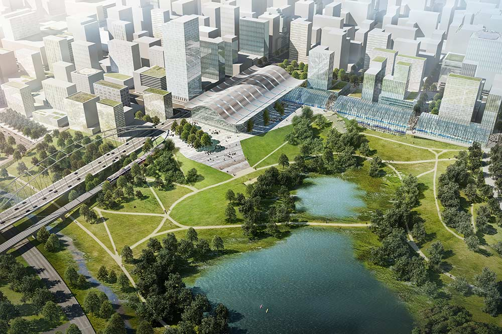 Planning an International City - From palm plantation to strategic developmentLearn more >