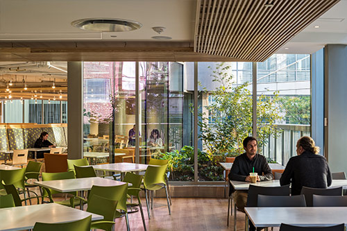 Brigham and Women's Hospital | Garden Café  Boston, MA