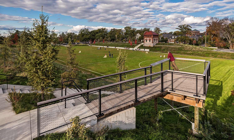 Fisher-Hill-Reservoir-Park_overlook_historic-gatehouse_athletic-field_Klopfer-Martin.jpg