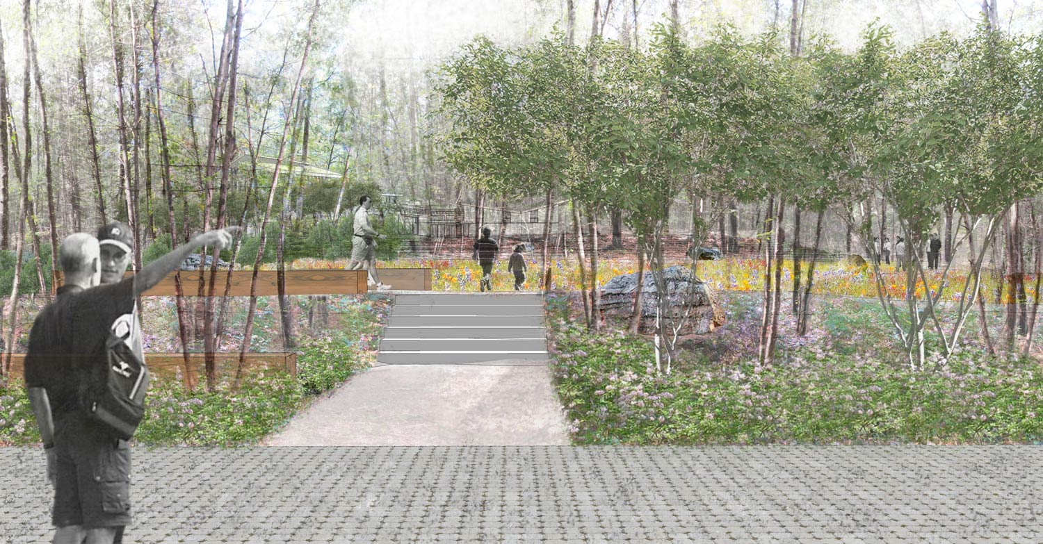 Summer-Star-Wildlife-Sanctuary_landscape-rendering-permeable-paver-parking_Klopfer-Martin.jpg