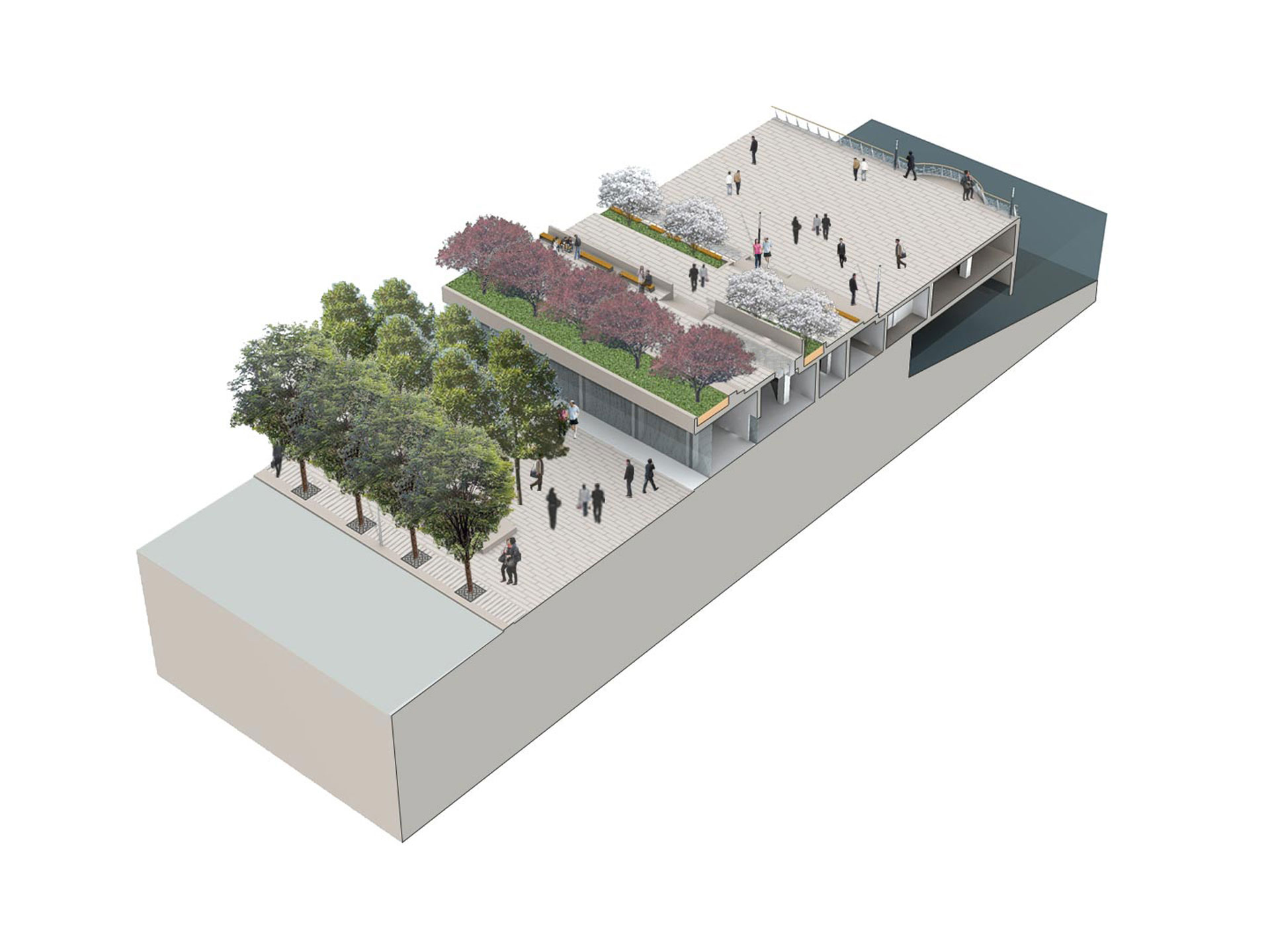 7_Shanghai-Bund_Klopfer-Martin-Design-Group_axonemetric_rendering_riverfront-promenade_urban-park.jpg