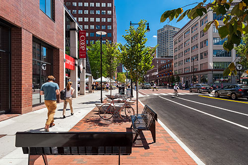 Kendall Square Main Street  Cambridge, MA