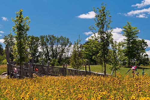 Fisher Hill Reservoir Park  Brookline, MA