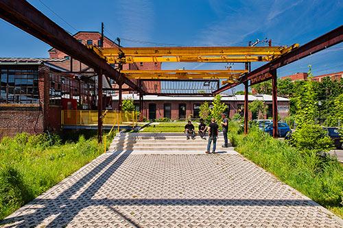 The Steel Yard  Providence, MA