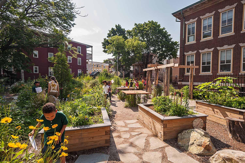 Boston Schoolyards Initiative  Boston, MA