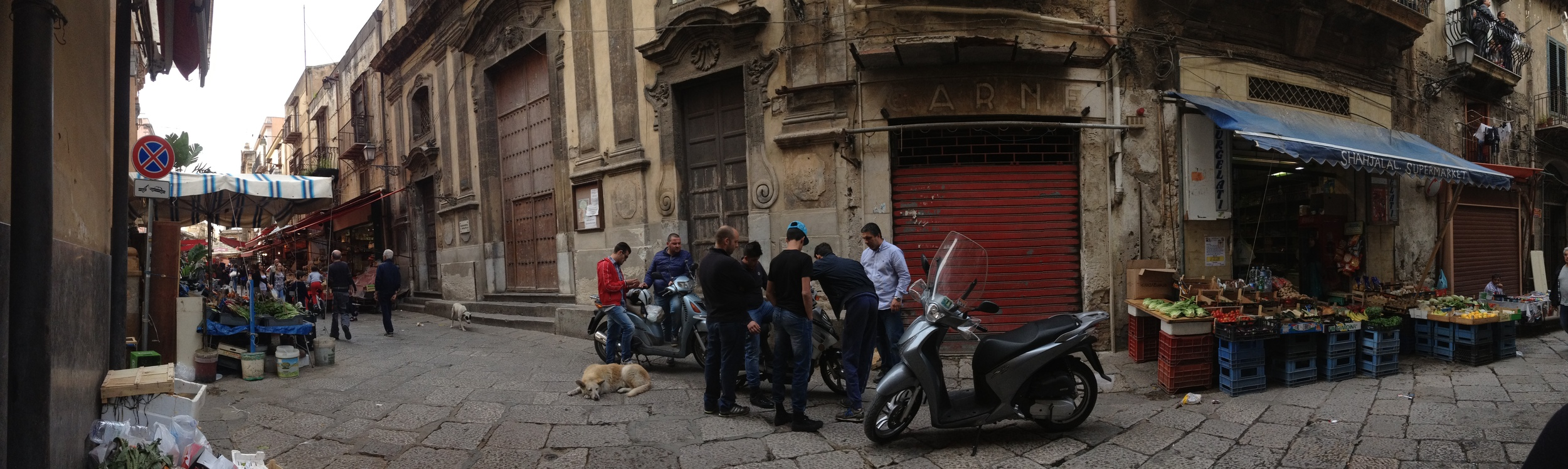 Palermo, April 2015