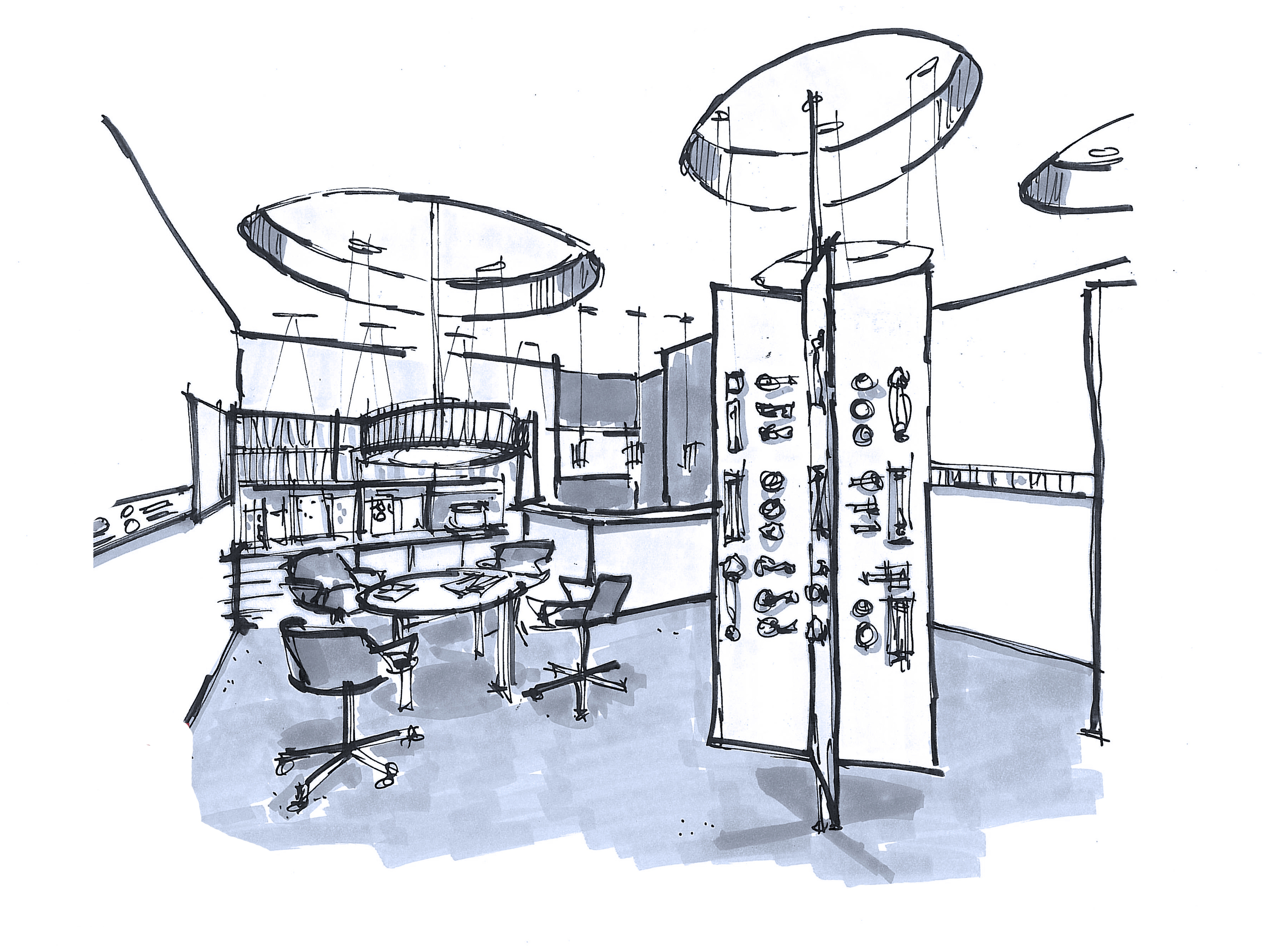 Retail Product Display and Space Plan