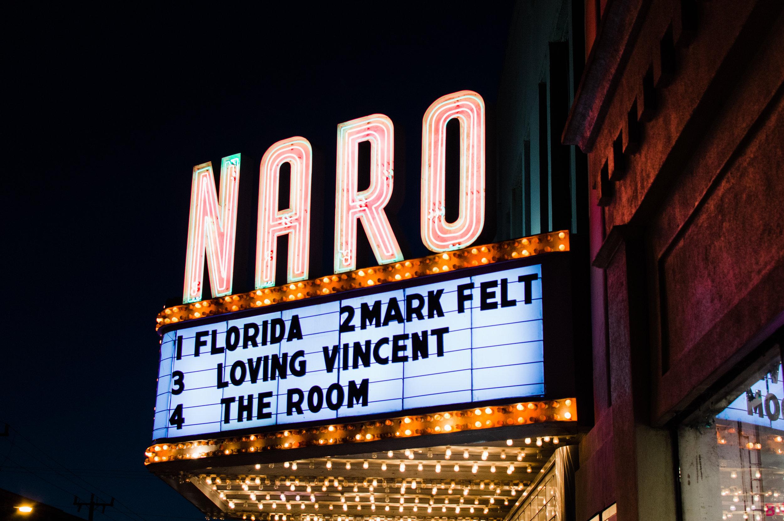 11/19/17. Naro theater. Fuji 400H Pushed