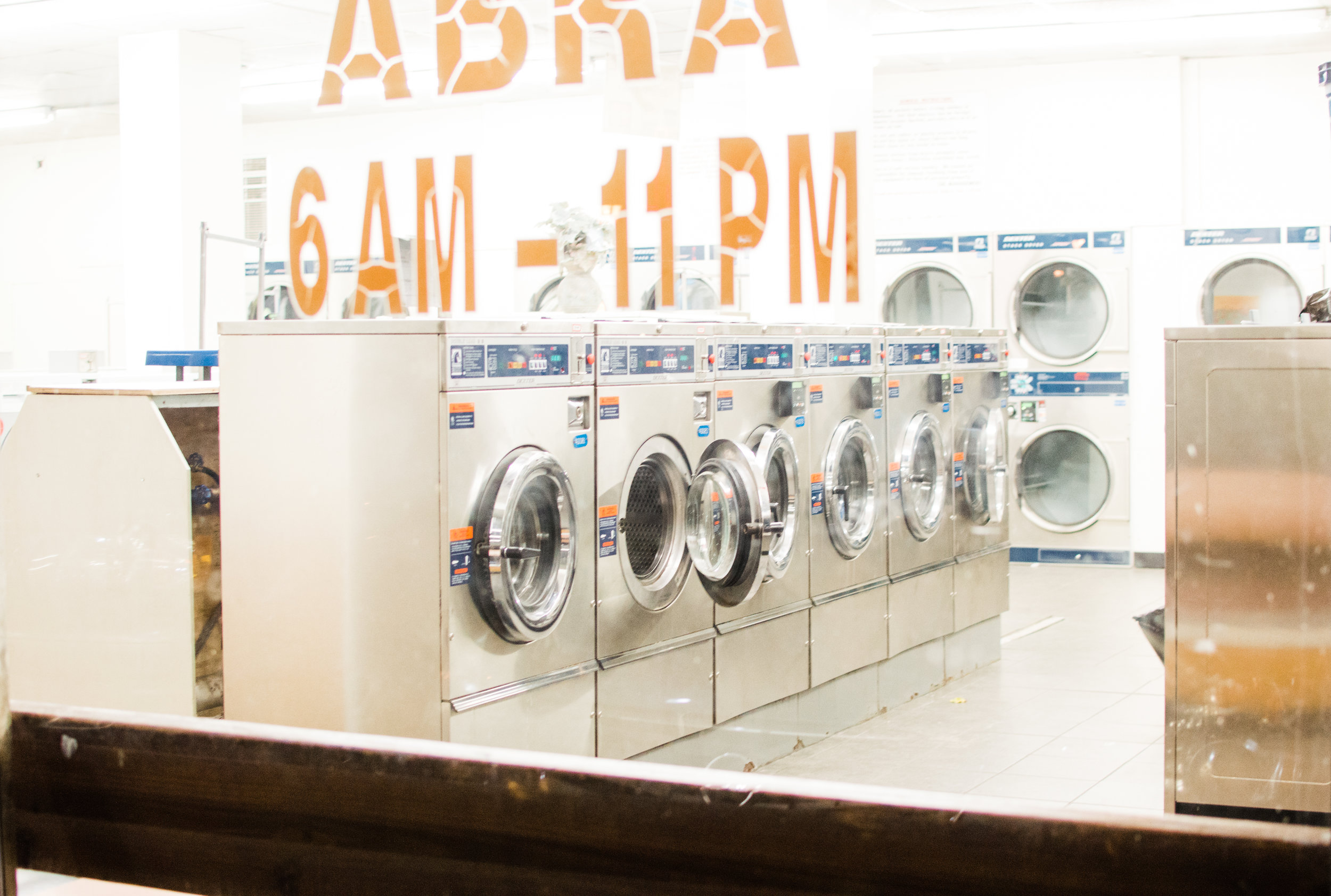 11/19/17. Laundry Land B. Fujicolor Pro 400H Pushed.