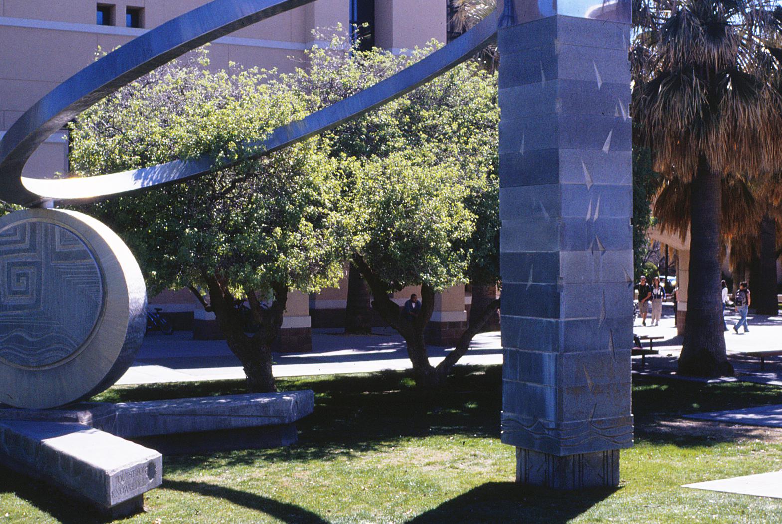 Public art at Zuhl library