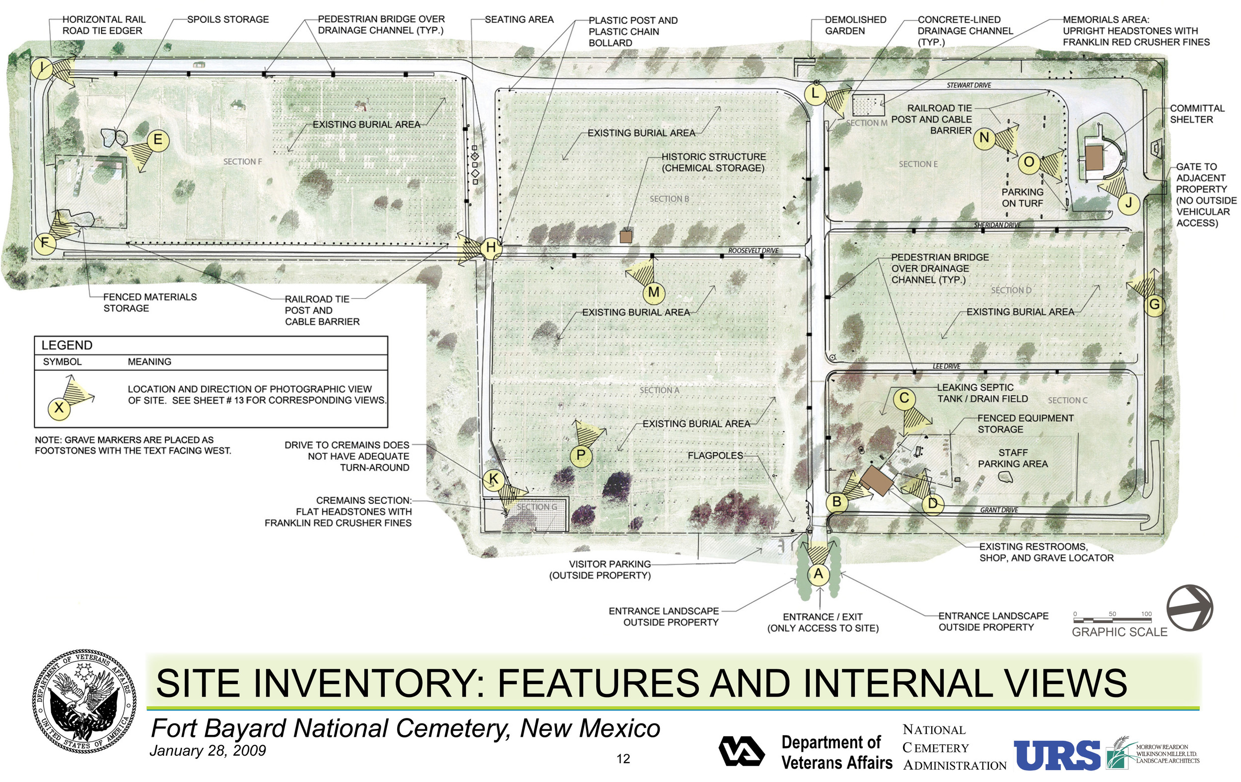 Fort Bayard National Cemetery - site inventory
