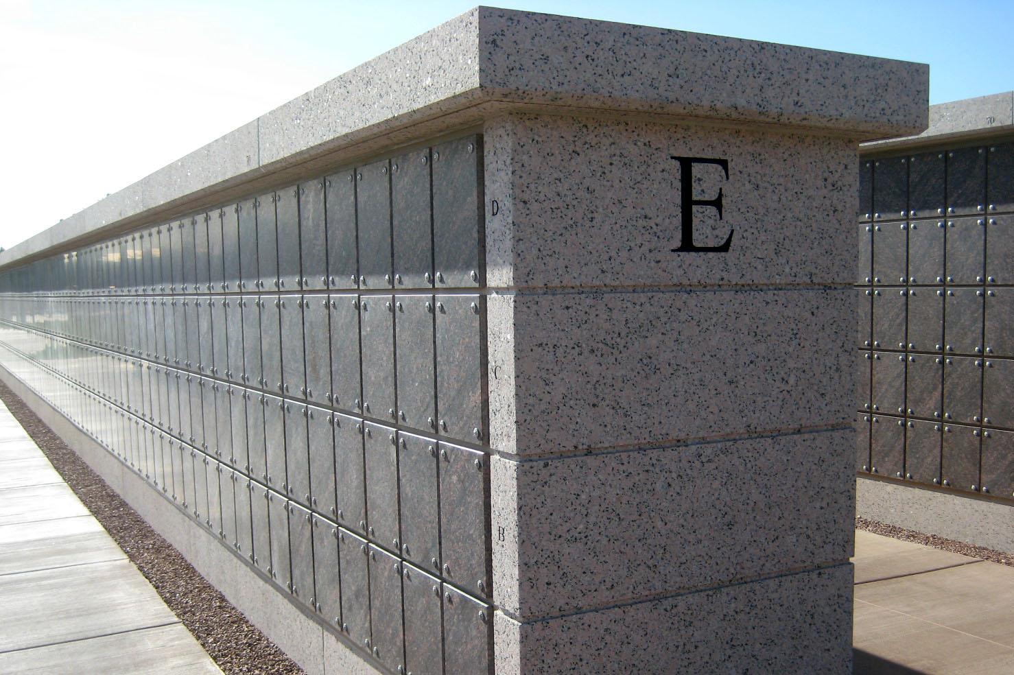 Fort Bliss National Cemetery - Columbarium design