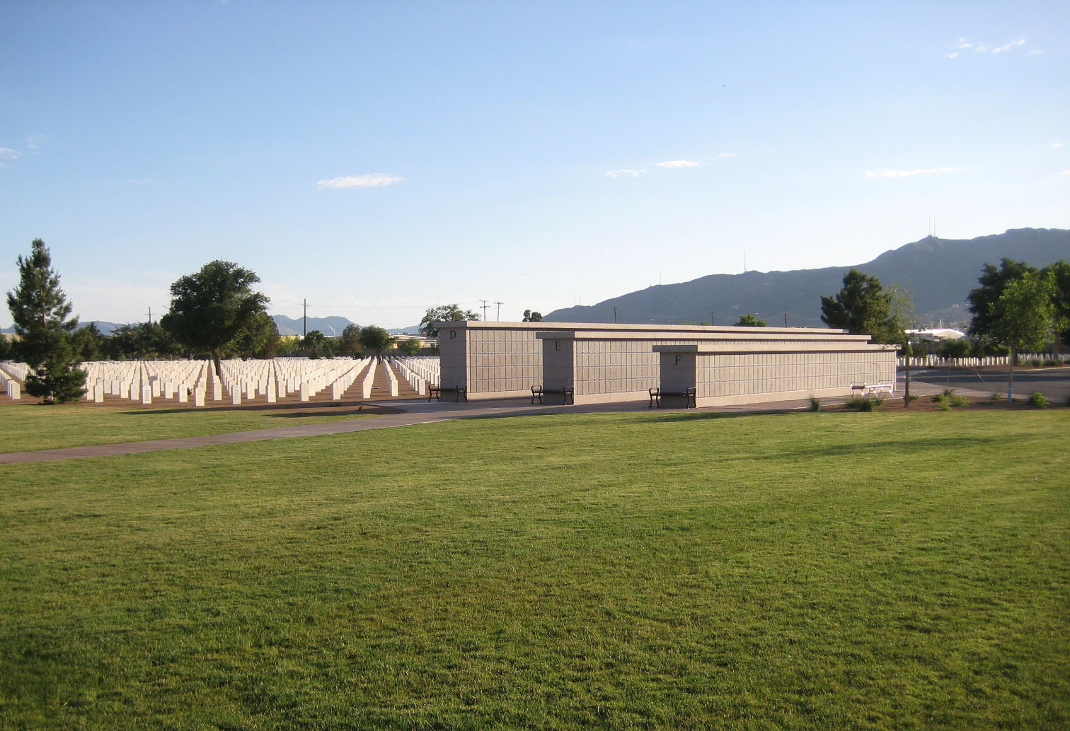 Fort Bliss National Cemetery - Columbariums