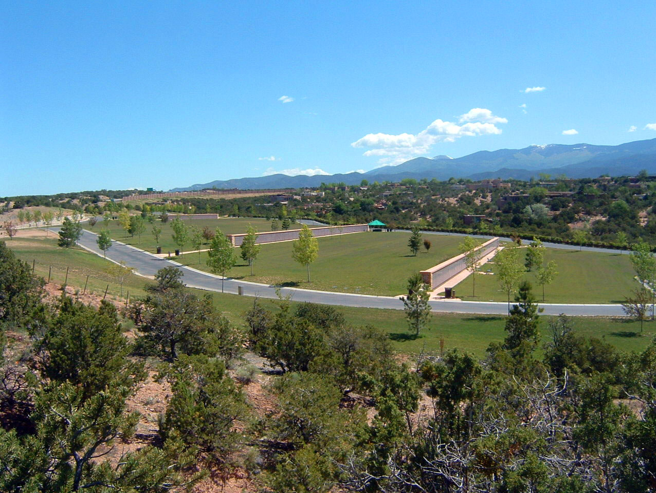 Santa Fe National Cemetery Columbarium Fields