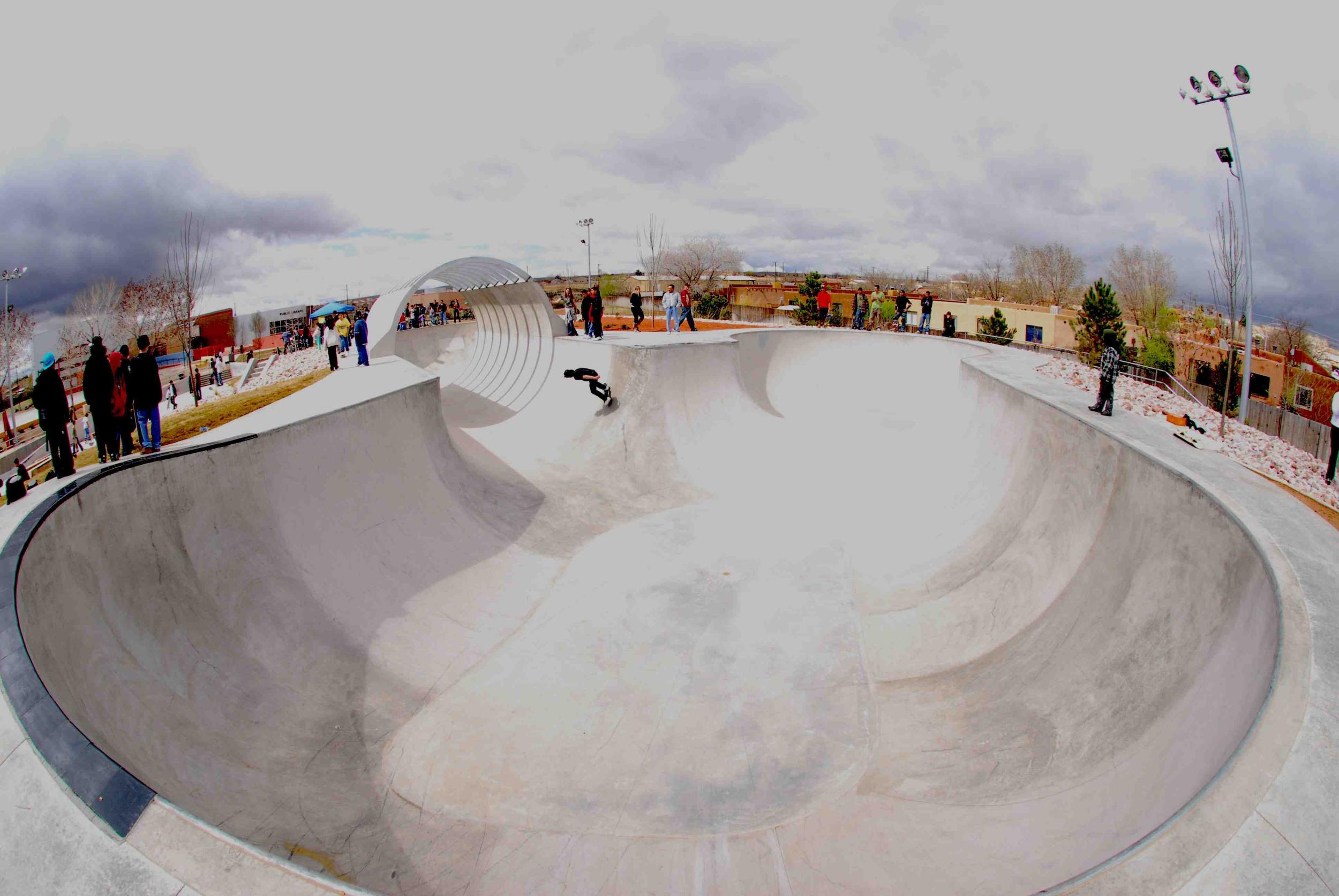 The Bowl at Alamosa Skate Park, Albuquerque NM