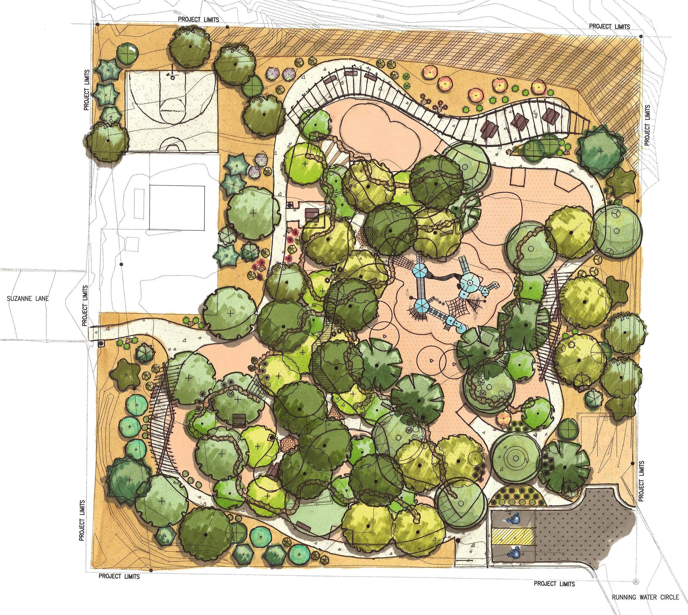 4 Four Hills Village Park, Albuquerque NM - Site Design