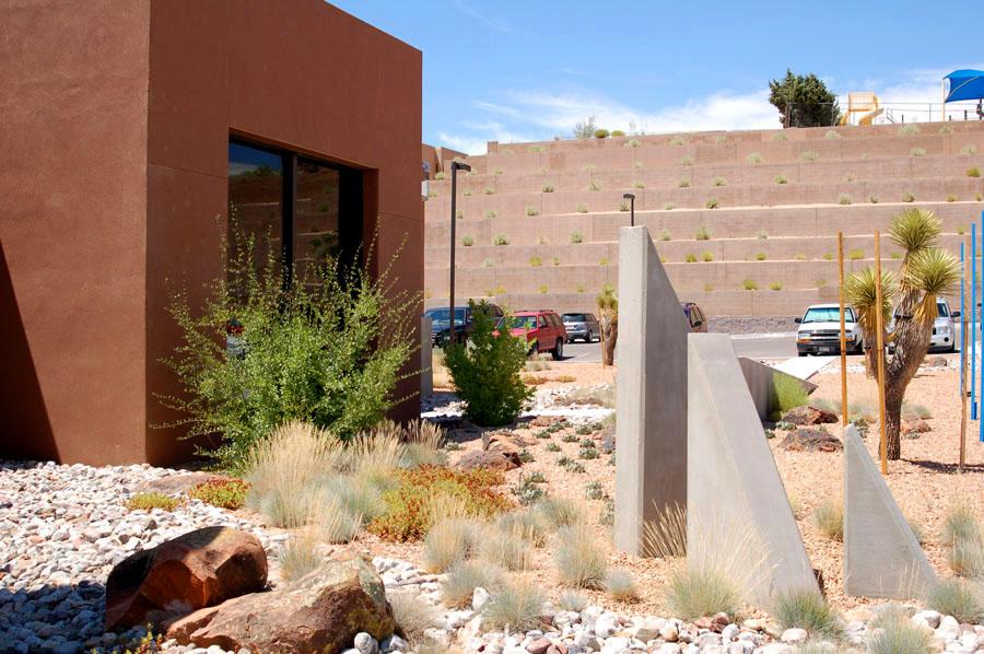 Southwest Medical Office xeric landscape