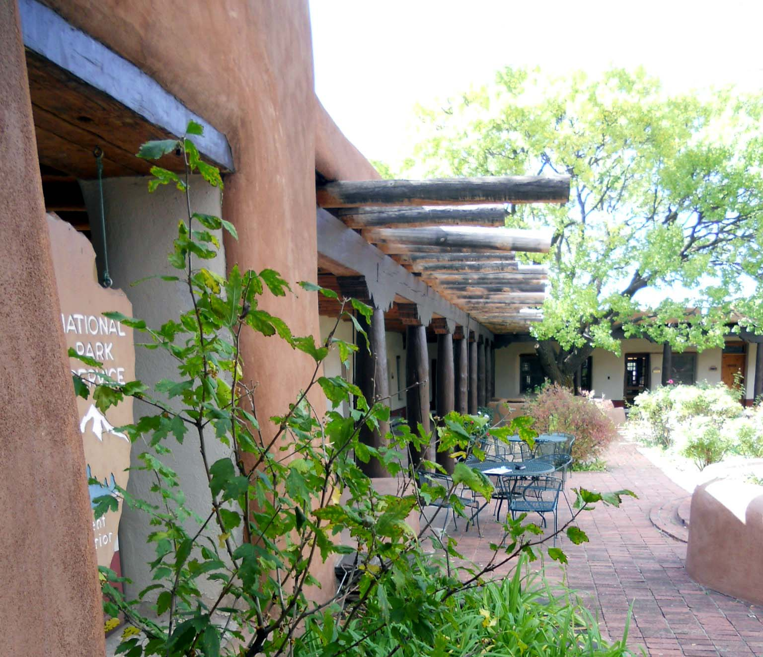 the National Park Service still has offices at the Old Santa Fe Trail Building