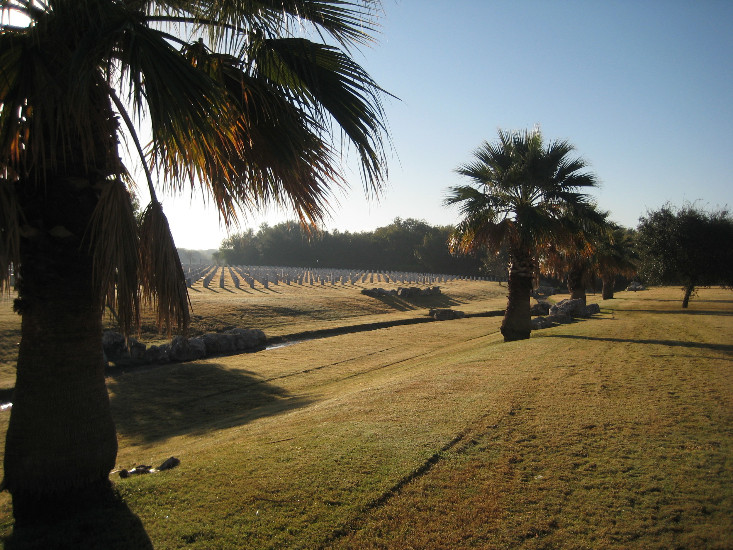 View of Fort Sam Houston National Cemetery