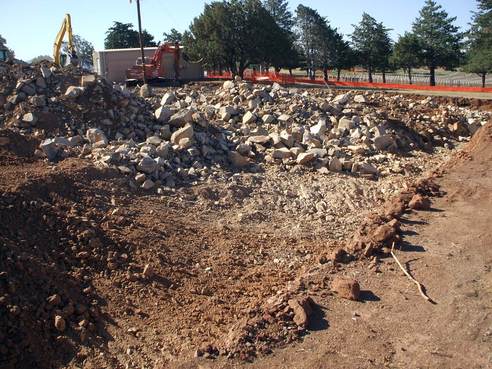 Fort Bayard National Cemetery - Construction Photo