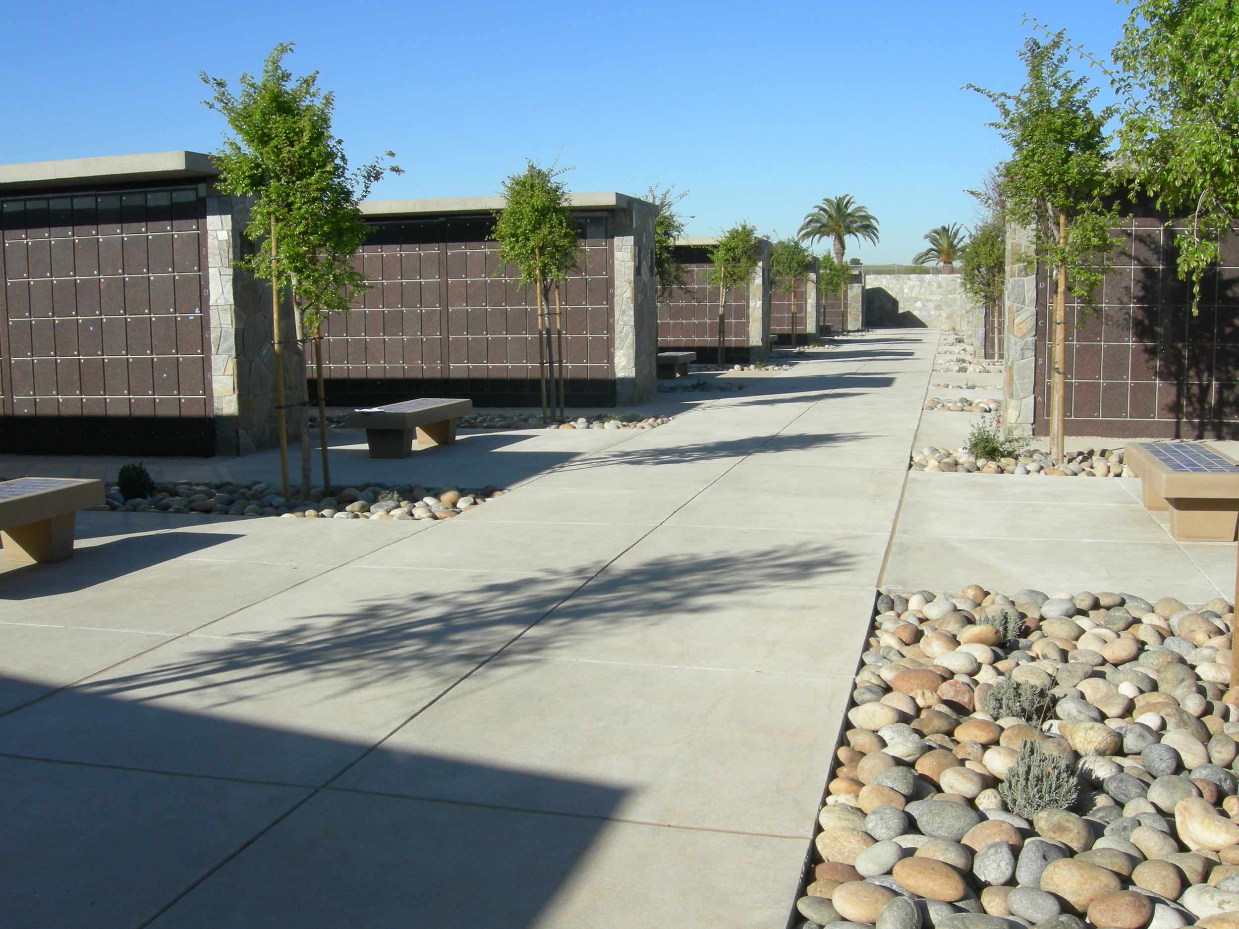 Riverside National Cemetery Columbarium Plaza