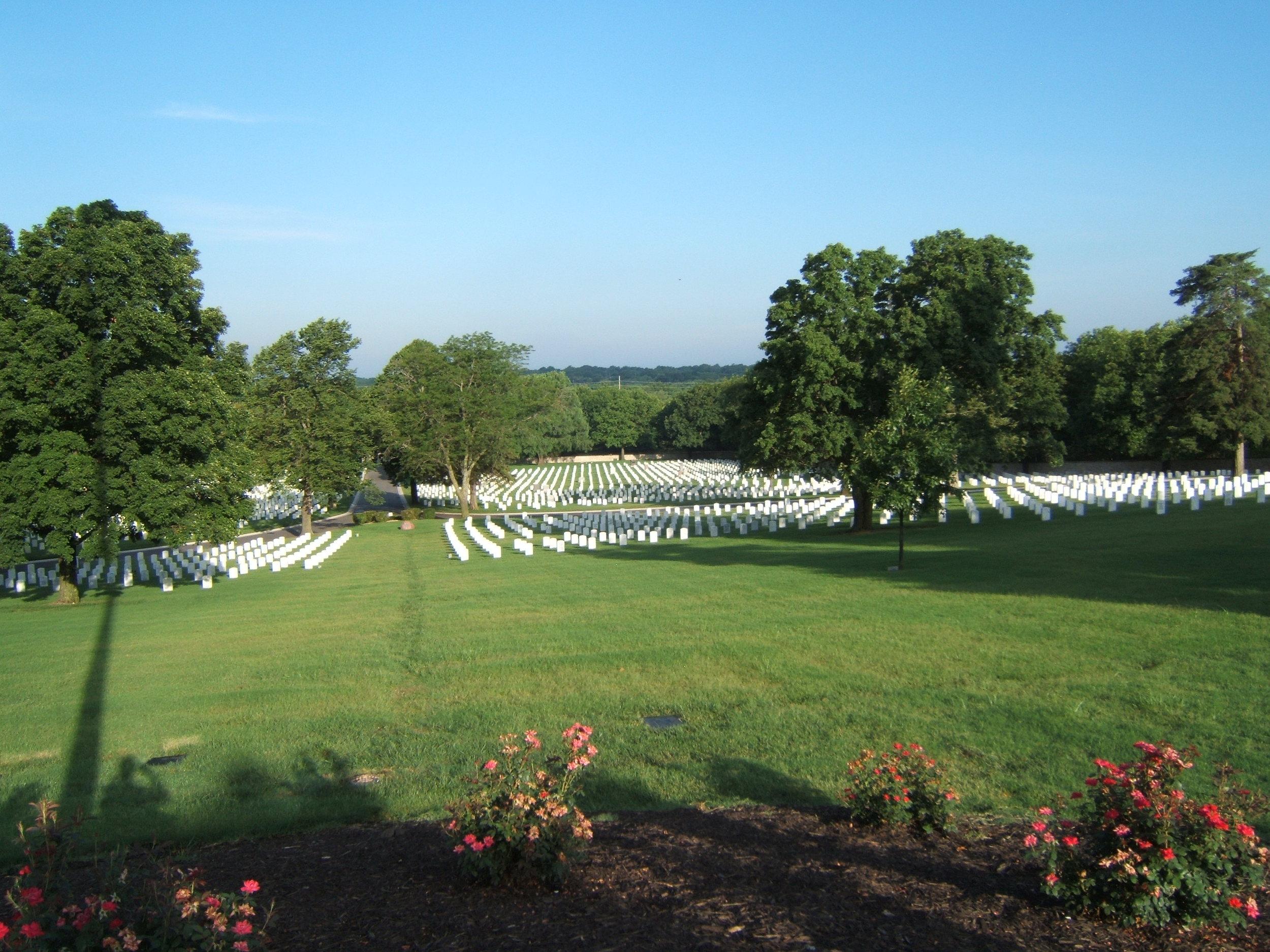 Fort Scott National Cemetery Irrigation design