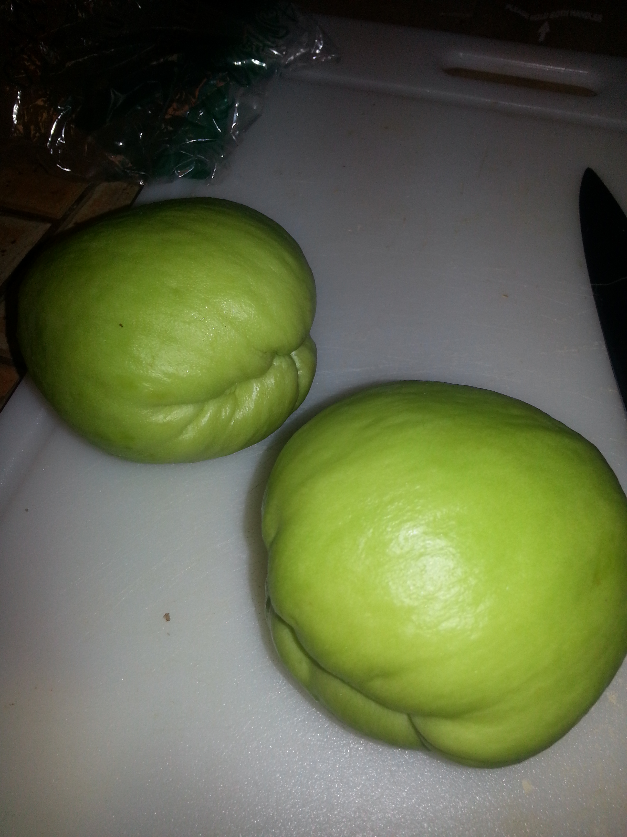"They are also called ""chayote squash"" and if you peel them, the inside of the skin can leave a residue on your fingers that is akin to super glue. True story!"