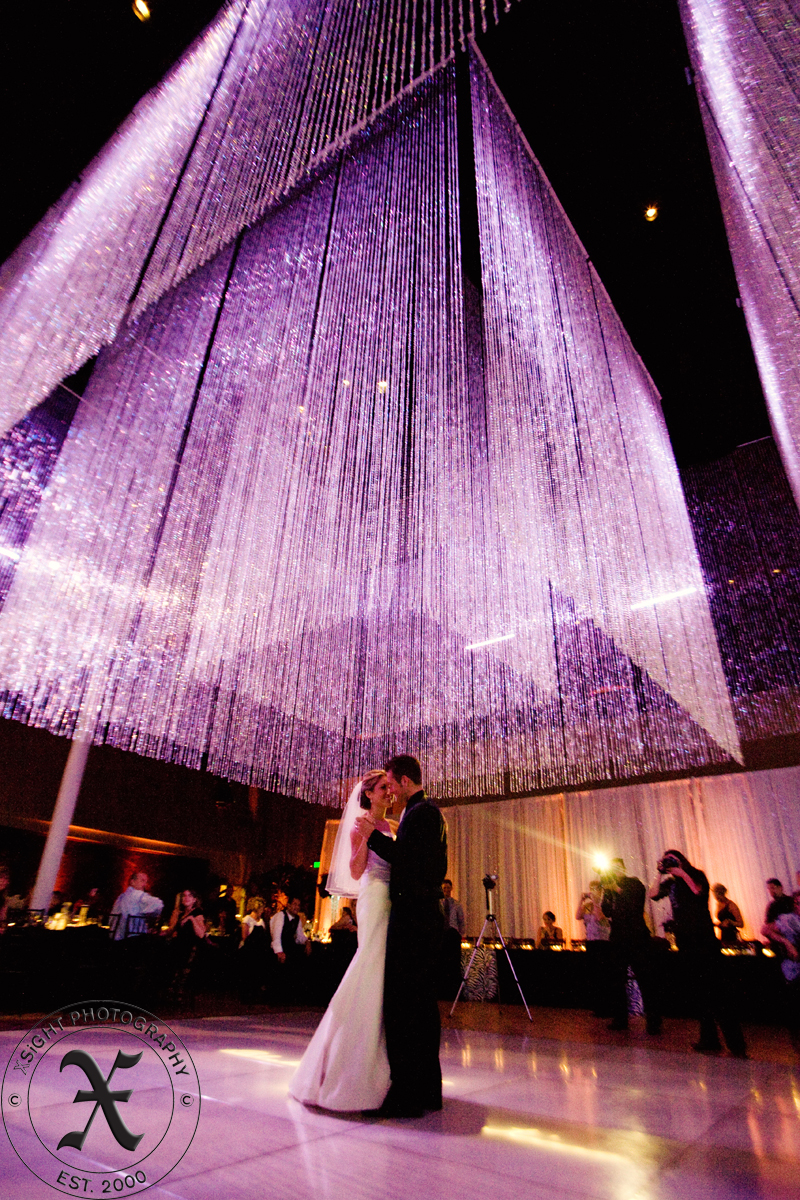 three-tier crystal chandelier