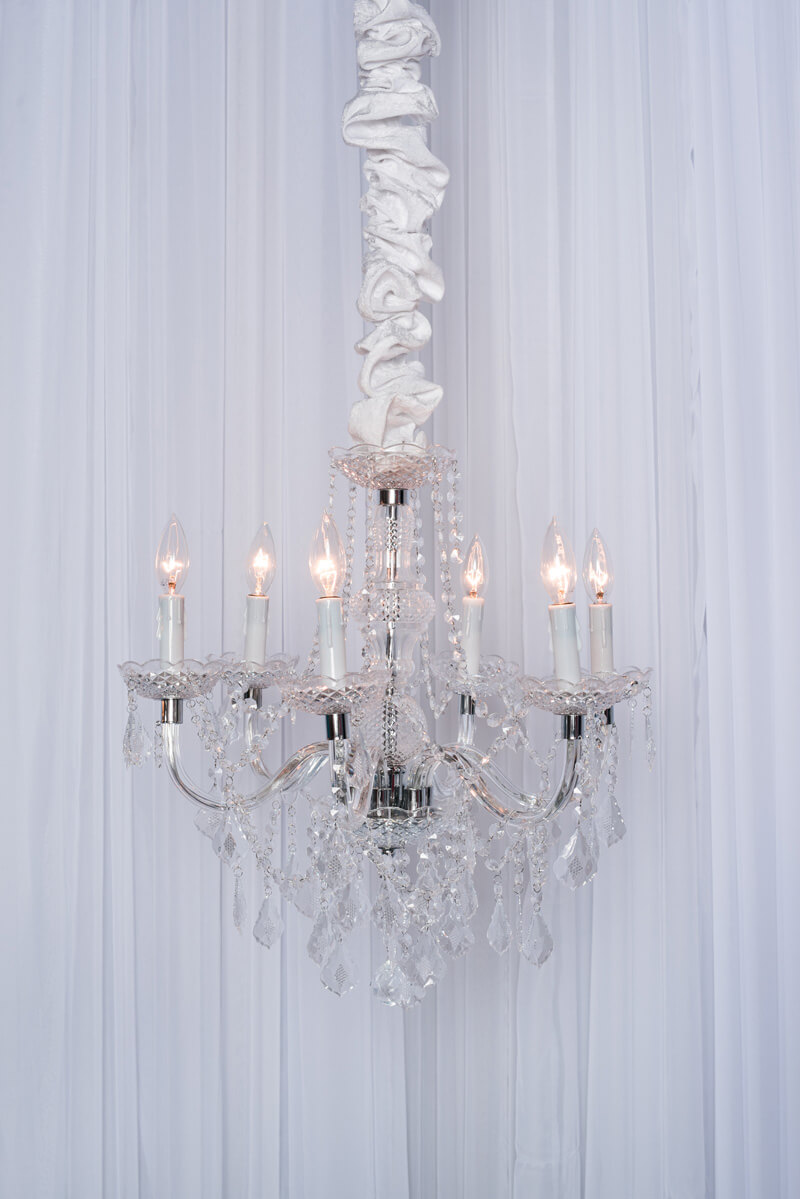 Small Crystal Maria Theresa Chandelier