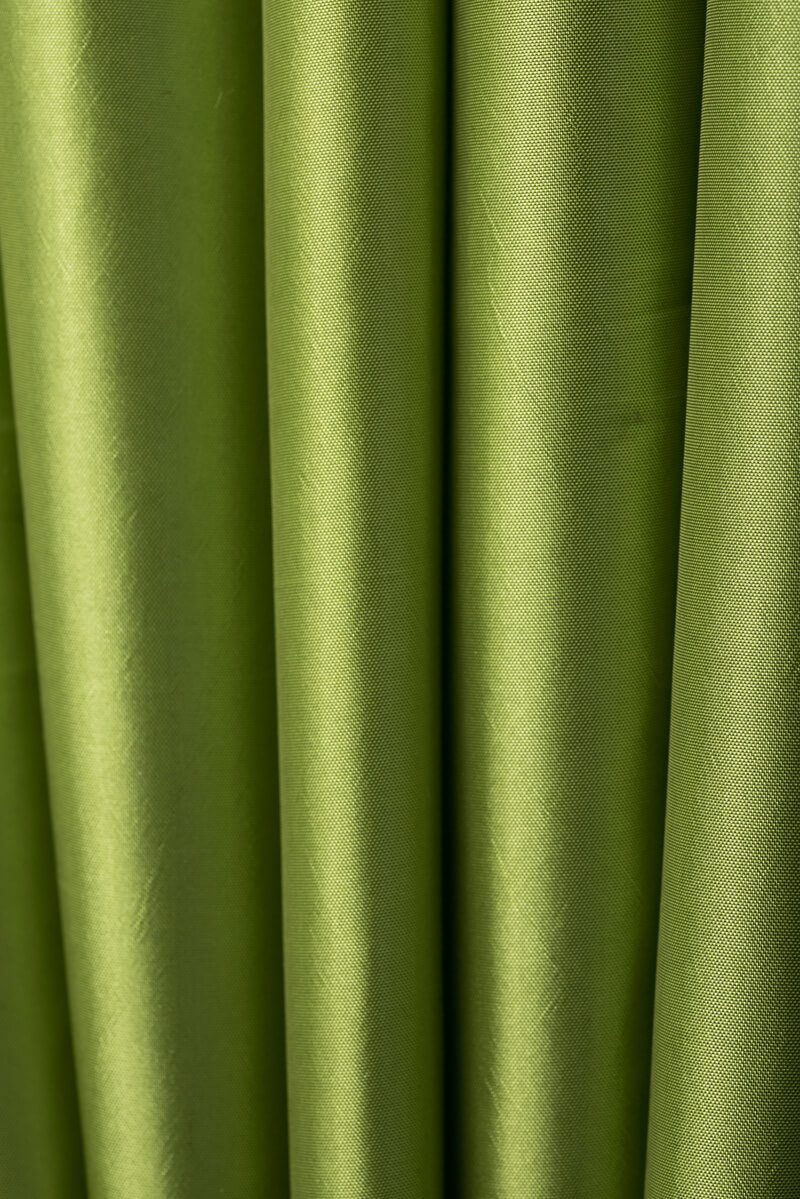 apple green taffeta