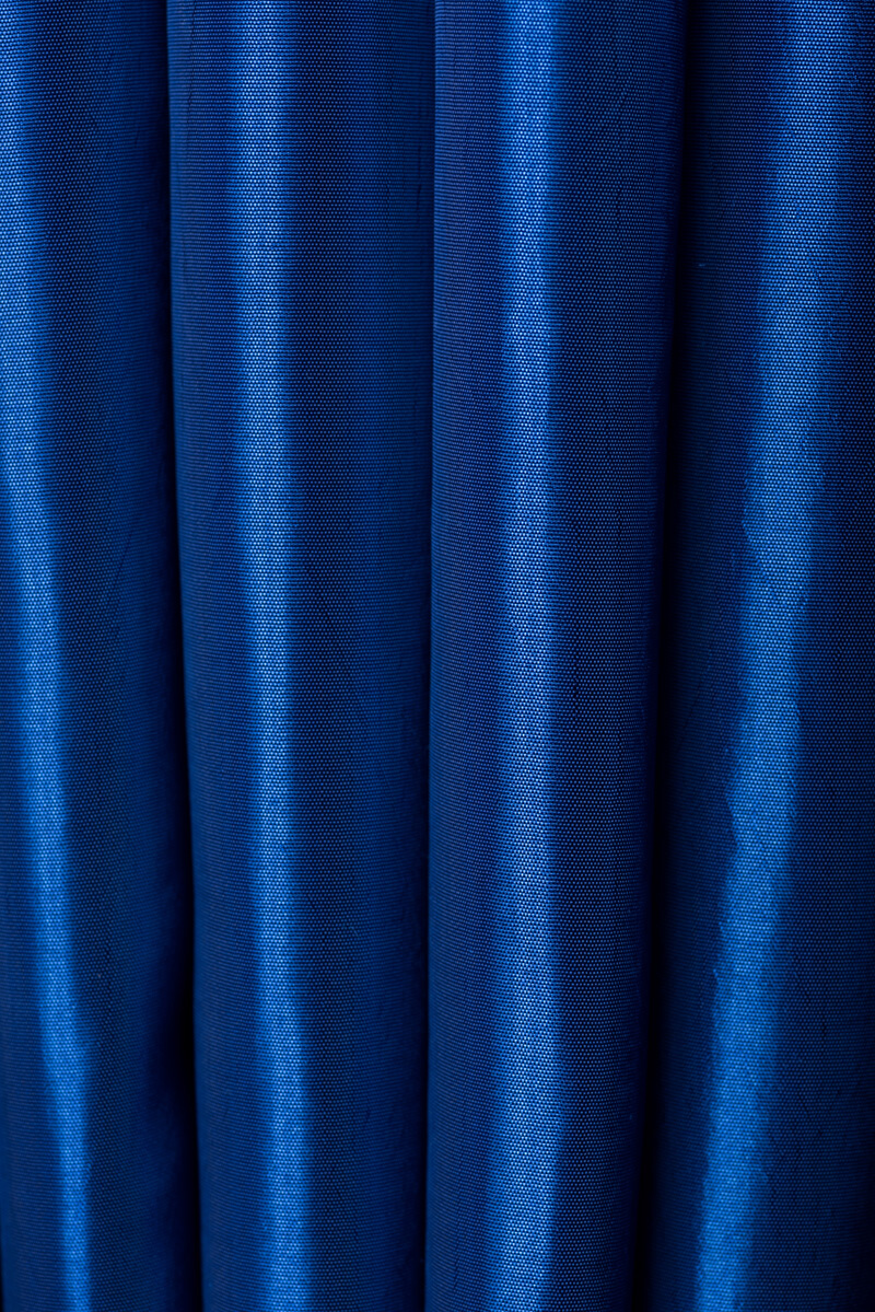 royal blue taffeta