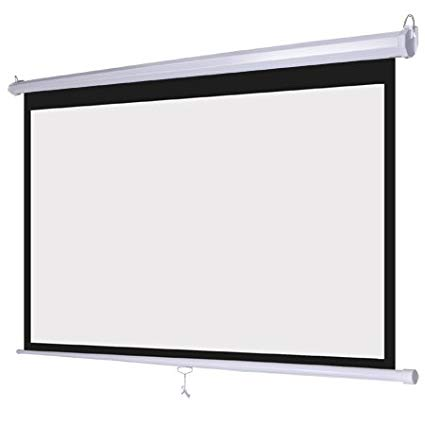 Projector screens (4:3 & 16:9 ratio)