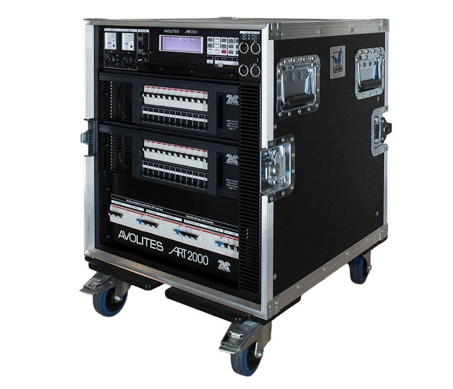 24 channel dimming rack