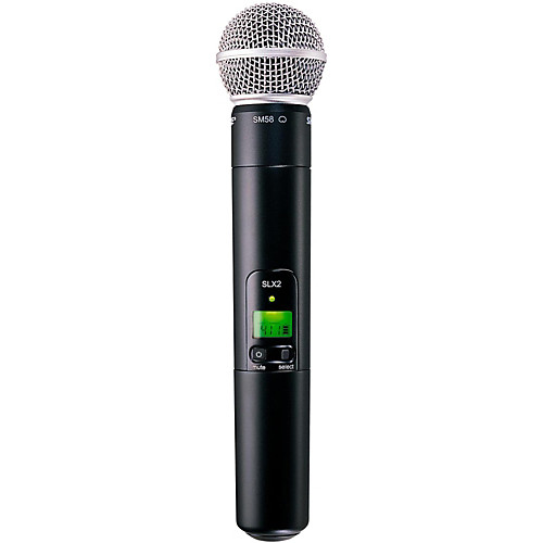 shure wireless handheld microphones