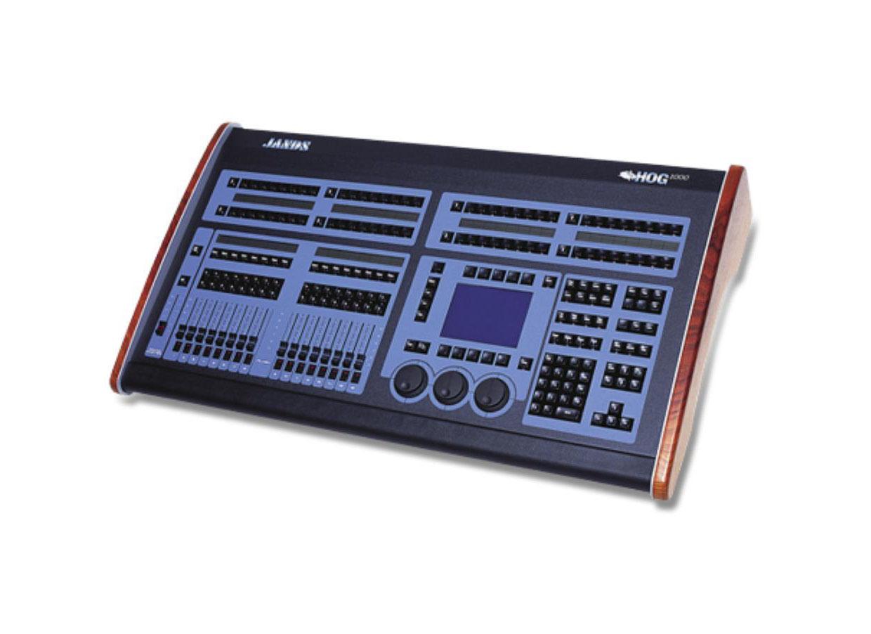 hog 1000 lighting console